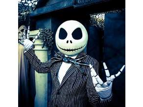 Jack Skellington Halloween Head