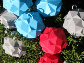 Christmas Ornaments - Compound Polyhedra