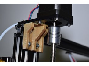 Tevo Tarantula Z acrylic mount support