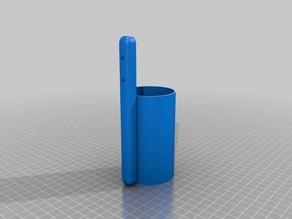 Silicone tube holder