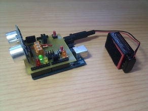Printshield v1.0 for Arduino printbots [Git repo]