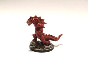 Gloomhaven Monster - Rending Drake