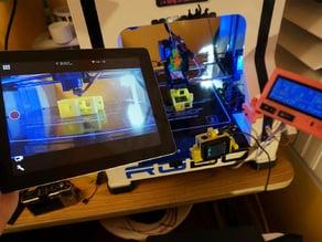Robo 3D Gopro Print Monitor Swing/Tilt Bed Mount