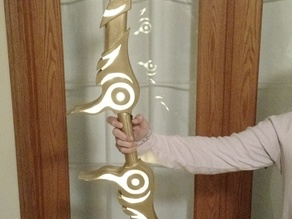 Zelda's Bow with lights