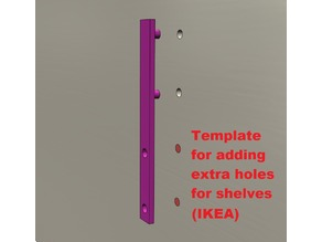 Template for more shelf-carriers IKEA Billy (and probably other models)