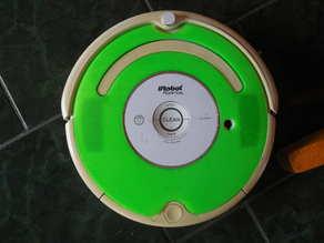 Roomba 500/600/Create 2 Faceplate