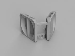 Kossel mini E3D V6 Duo cooler 40x40