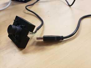 Camera cover for 38x38mm CMOS cameras