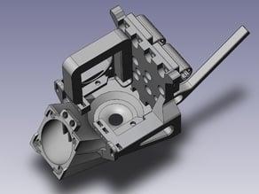 Geeetech i3 X - X carriage set with circular fan duct