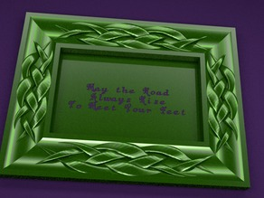 Celtic 4x6 Picture Frame