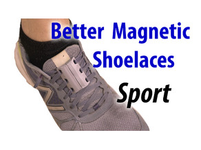 Better Magnetic Shoelaces - Sport