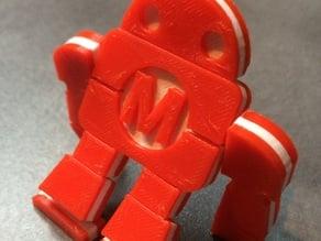Figurine articulée Maker Faire