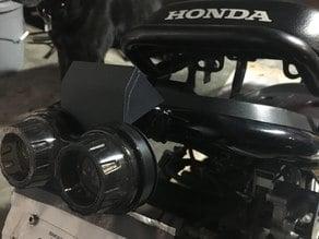 Honda Ruckus Zoomer No Cut Tail Light Modification