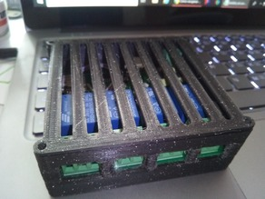 Case for the Sonoff 4CH clone