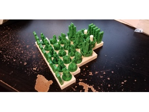 Catan Playing Pieces Holder