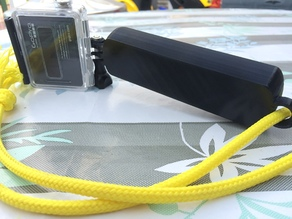 GoPro Floaty / GoPro Pole - absolutely watertight by printing with PETG - NO Support needed!!!