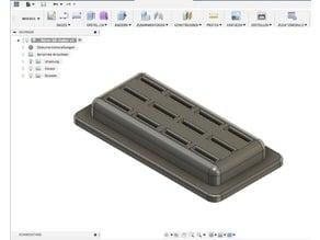 Universal micro SD card holder (12x)