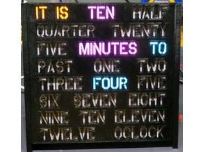 Mini Word Clock