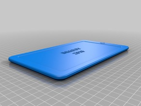 Inmoov Dummy Tablet for new Back Cover