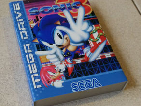 Sega Mega Drive/Genesis case for Sega and EA-style game cartridges