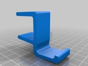 Dorm desk headphone clip