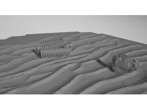 Combing the desert Catan Tile
