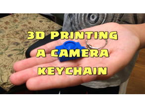 Lil Camera Charm Keychain