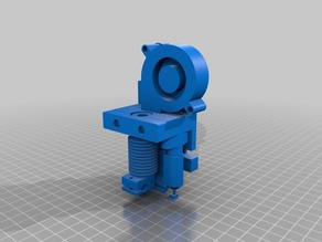 Remix Extruder Mount 1.0 N with BL-Touch