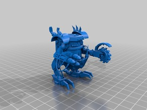 Alternative Killacan for Warhammer 40k Tabletop, Space Ork 28mm (Warhammer 40.000)