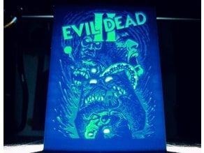 Evil Dead II Lithophane