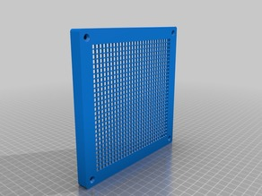 Bathroom ventilation grille