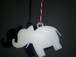 White Elephant Gift Tag