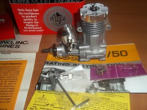 1:1 scale RC nitro engine