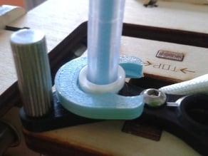 Bowden tube clip