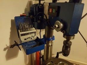 Pillar Drill Magnetic Bit Box Holder