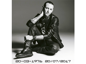 Chester Bennington (Linkin Park) Lithophanie Tribute