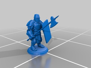 Basic Tower Guard - Halberd
