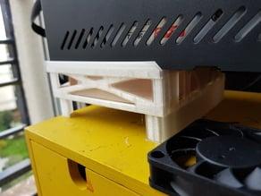 [CR10] control box 120mm fan holder optimised