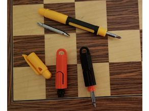 KeyChain Screwdriver Pocket Tool