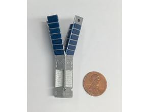 LightSail Spacecraft Model, 1:10 scale
