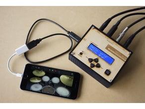 Arduino UNO Trigger to MIDI Converter