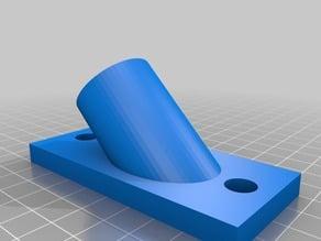 "1/2"" PVC pipe based brace for 2020/2040 extrusion printers (Anet A2/Tevo Tarantula)"