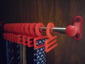 Necktie hanger (revised)