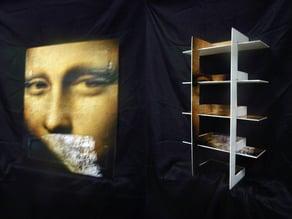 Folding Poster/Shelves
