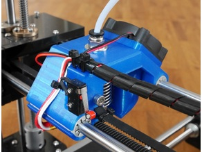 Anet A6 x-axis carriage for E3D v6