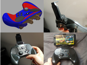 Steam Controller Smartphone Mount