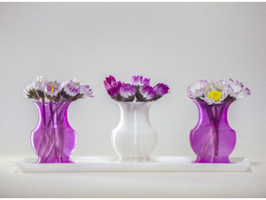 Mini Vases and Tray