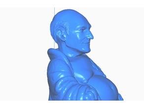 Captain Picard Buddha (Star Trek Collection)