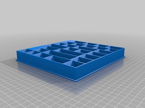 Eclipse Board Game Simple Ship Parts Tray