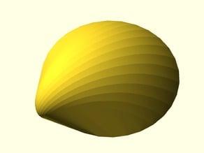 Parametric Logarithmic Seashell